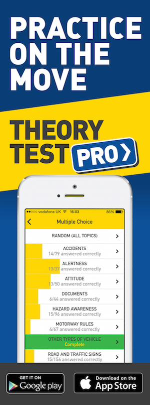 Theory Test Pro in partnership with Focused Driver Training